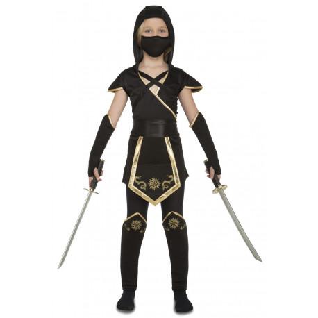 Disfraz de Ninja Negro para Niña