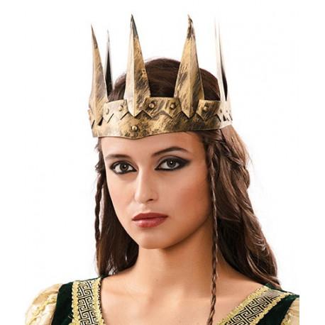 Corona de Reina Medieval Dorada
