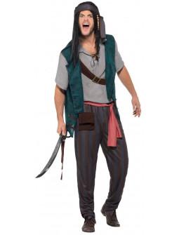 Disfraz de Pirata Salvaje para Hombre