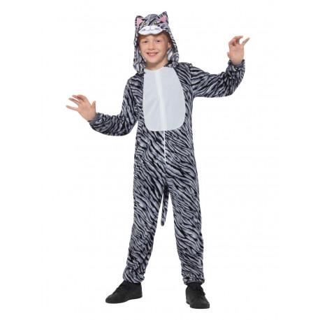 Disfraz de Gato Atrigrado Infantil