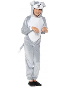 Disfraz de Perro Gris Infantil