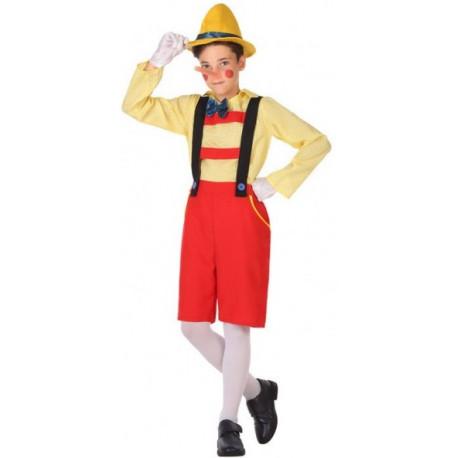 Disfraz de Pinocho para Niños