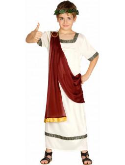 Disfraz de Romano Granate para Niño