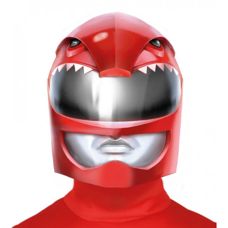 Casco de Power Ranger Rojo