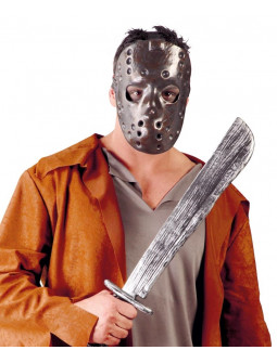 Máscara de Jason con Machete