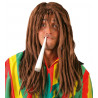 Peluca Rastafari Castaña
