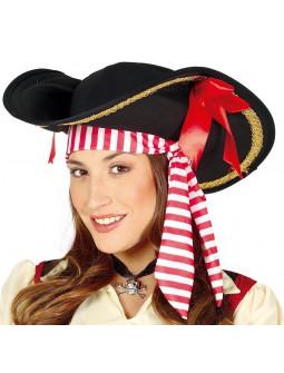 Gorro de Pirata para Mujer