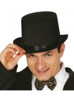 Sombrero de Copa Negro para Adulto