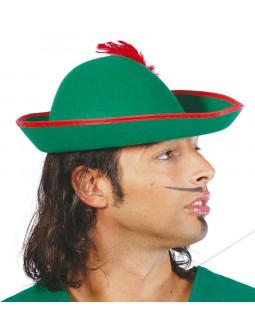 Sombrero de Robin Hood Verde