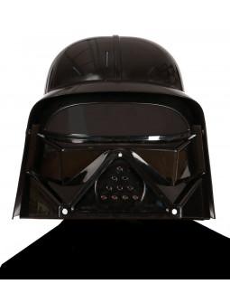 Casco de Lord Sith Negro Infantil
