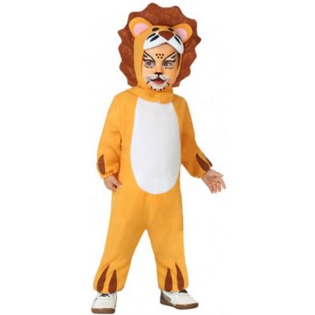 Disfraz de León Marrón Claro para Bebé