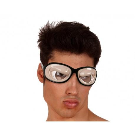 Gafas con los ojos saltones