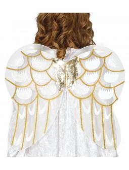 Alas de Ángel Blancas y Doradas