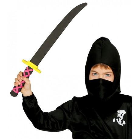 Espada Ninja de Goma EVA para Niños