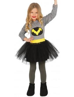 Disfraz de Bat Lady para Niña
