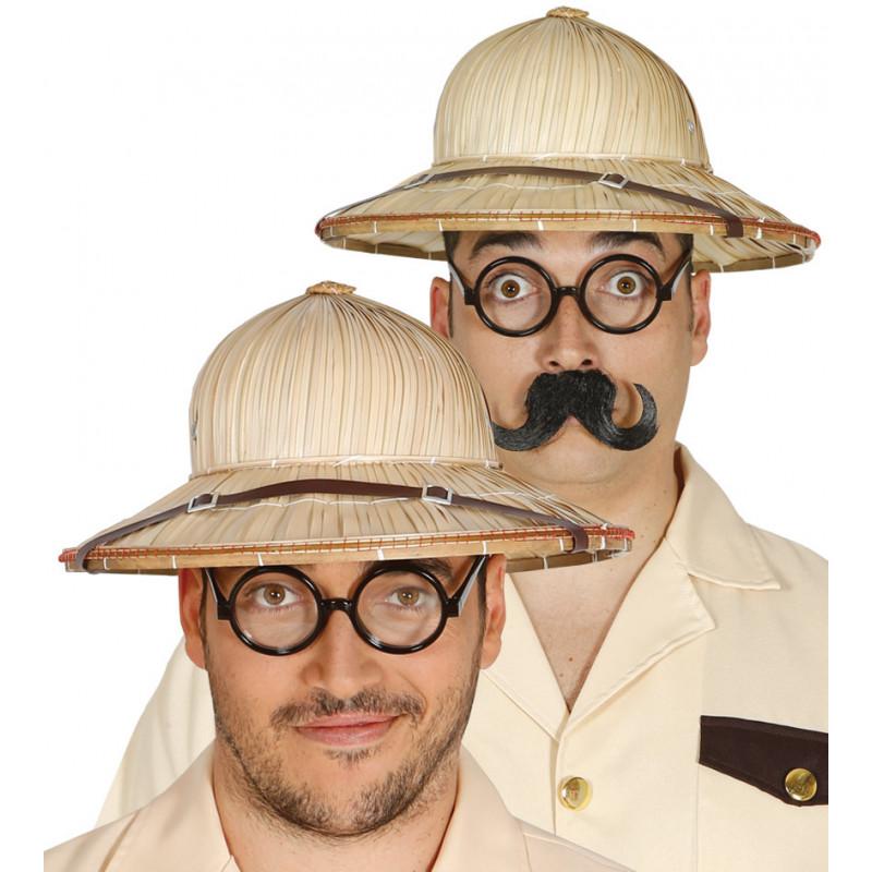 21245aa00f0bb Sombrero de Explorador de Paja