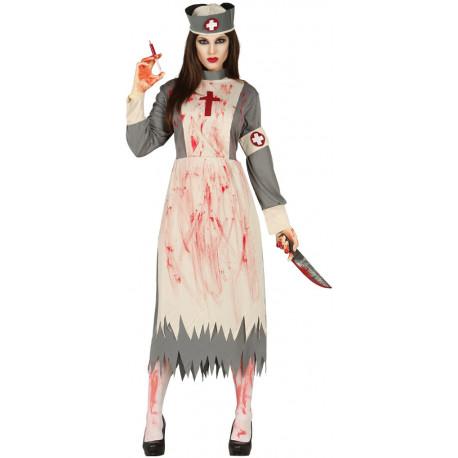 Disfraz de Enfermera Zombie para Mujer