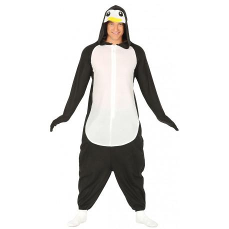 Disfraz de Pingüino Pijama para Adulto