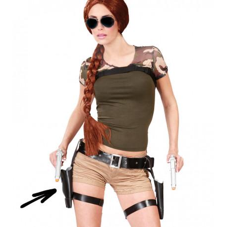 Cartucheras de Tomb Raider con Perneras para Mujer
