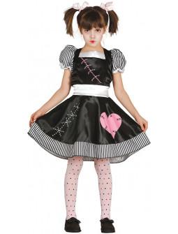Disfraz de Muñeca Poseída para Niña