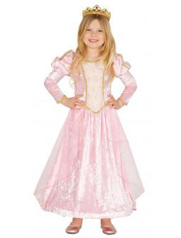 Disfraz de Princesa Rosa Infantil