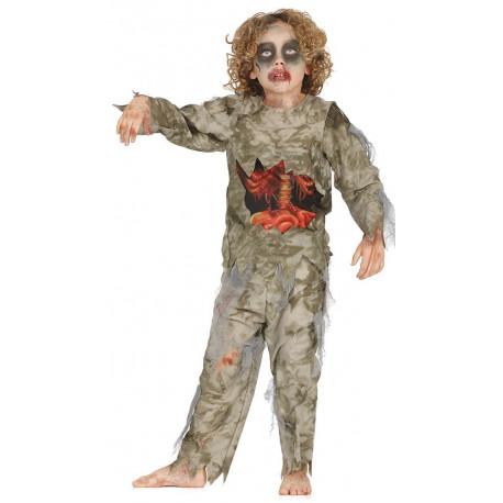 Disfraz de Zombie para Niño