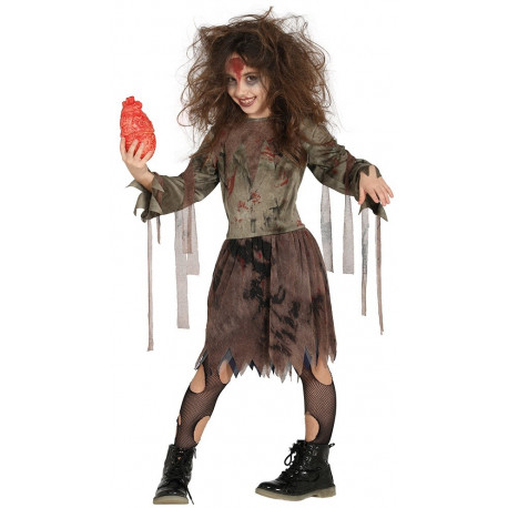 Disfraz de Zombie para Niña