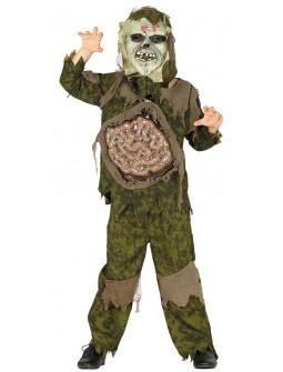 Disfraz de Zombie con Tripas Infantil