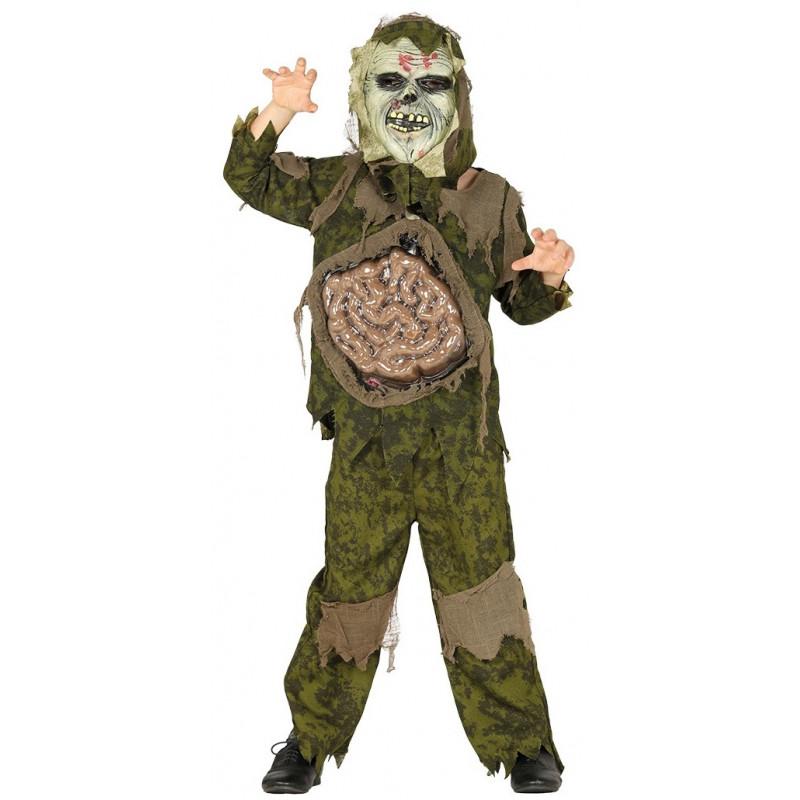 Disfraz De Zombie Con Tripas Infantil Comprar Online