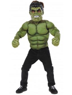 Disfraz de Hulk Deluxe para Niño