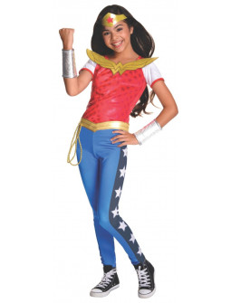 Disfraz de Wonder Woman Super Hero Girls para Niña