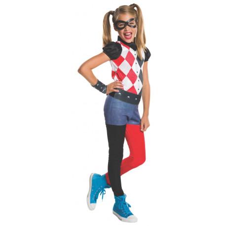 Disfraz de Harley Quinn Super Hero Girls para Niña