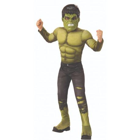 Disfraz de Hulk Musculoso Infinity War para Niño