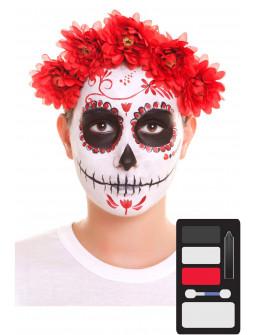 Kit de Maquillaje de Catrina para Adulto