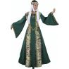 Disfraz de Marquesa Medieval Verde para Mujer