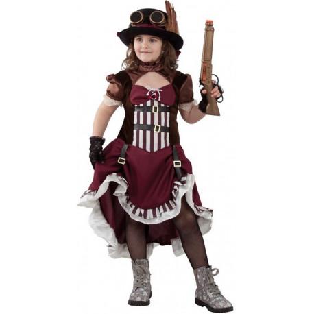 Disfraz de Steampunk Clásico para Niña