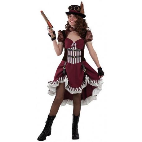Disfraz de Steampunk Clásico para Mujer