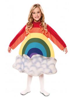 Disfraz de Arcoiris con Nube Infantil