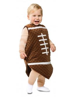 Disfraz de Balón de Rugby para Bebé