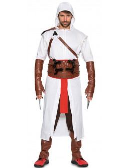 Disfraz de Assassin's Creed Blanco para Hombre
