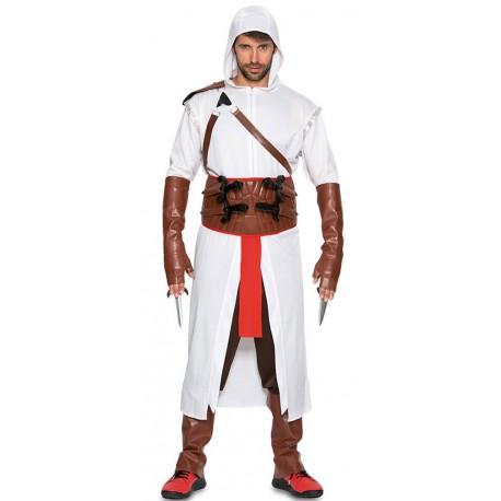 Disfraz de Assassin's Creed Blanco para Hombre