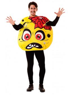 Disfraz de Emoticono Zombie para Adulto