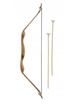 Arco Medieval de Madera de 70cm con Flechas