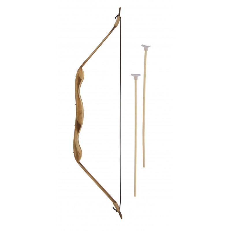 471c7902b Arco Medieval de Madera de 70cm con Flechas