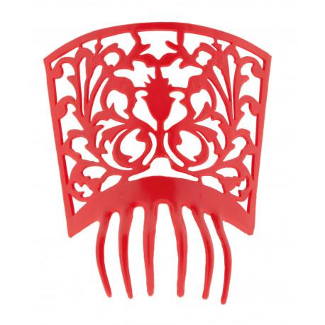 Peineta de Sevillana Roja