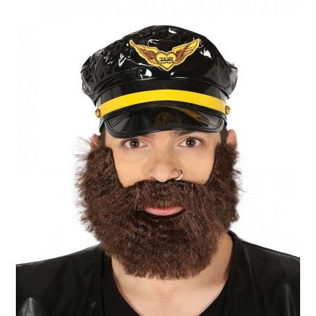 Barba Castaña Túpida
