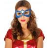 Antifaz Azul de Superheroína