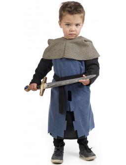 Disfraz de Caballero Medieval Azul para Bebé