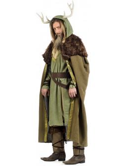 Disfraz de Druida del Bosque Premium para Hombre
