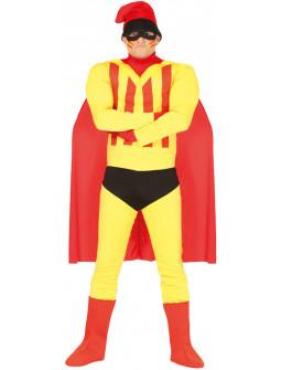 Disfraz Superhéroe Catalán para Adulto